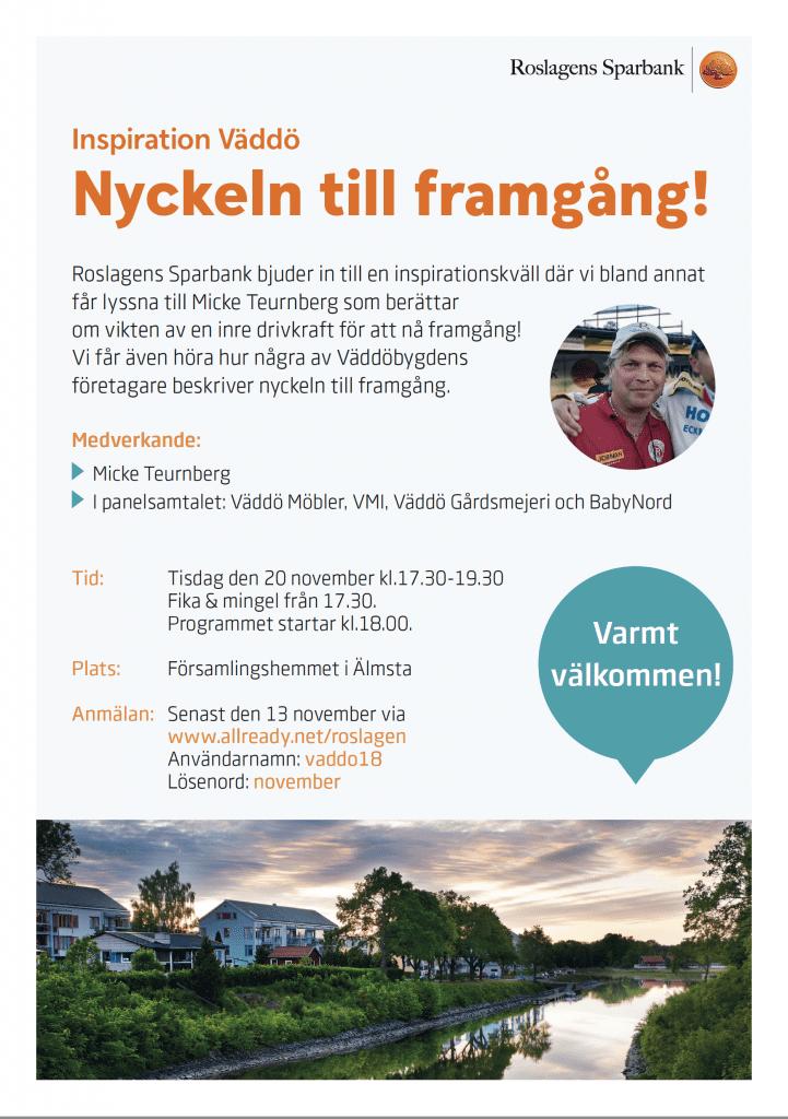 Inspirationskväll - Församlingshemmet i Älmsta